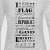 Pledge of Allegiance - Women's Long Sleeve Jersey T-Shirt