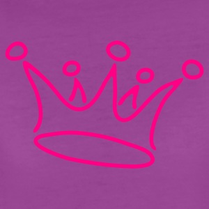 Light pink crown_red Baby Body - Women's Premium T-Shirt