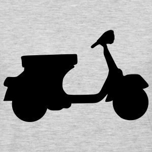 Heather grey Vespa Women's T-Shirts - Men's Premium Long Sleeve T-Shirt