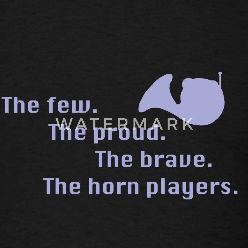 The French Horn Players - Men's T-Shirt