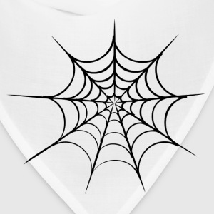 White spider web Kids' Shirts - Bandana