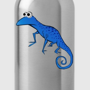 Goofy Blue Lizard - Water Bottle