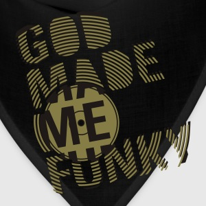 Lime GOD MADE ME FUNKY (12 INCH) T-Shirts - Bandana