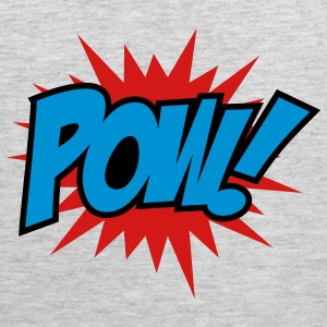 Heather grey Pow Sweatshirts - Men's Premium Tank