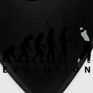 Khaki evolution_golf_a_2c T-Shirts - Bandana