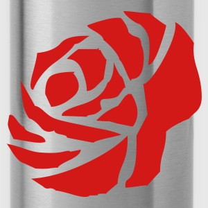 Red rose - Water Bottle