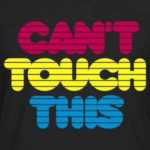 Black cant_touch_this Kids' Shirts - Men's Premium Long Sleeve T-Shirt