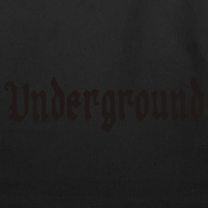 Chocolate/tan Underground T-Shirts - Eco-Friendly Cotton Tote