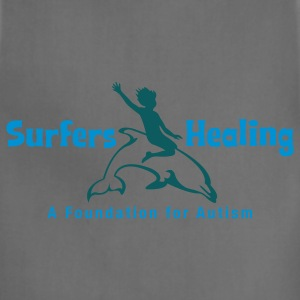 Spider baby blue Surfers Healing Logo T-Shirts - Adjustable Apron
