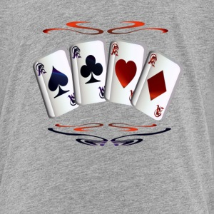 Aces with Design - Toddler Premium T-Shirt