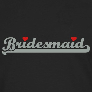 Black Bridesmaid Tanks - Men's Premium Long Sleeve T-Shirt