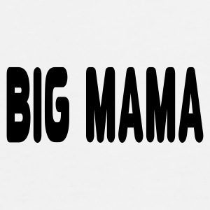 White big_mama1 Caps - Men's Premium T-Shirt