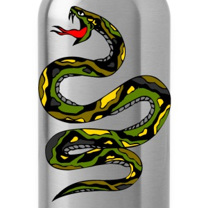 Black snake Sweatshirts - Water Bottle