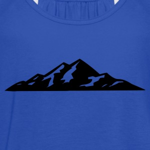 Mountains - Women's Flowy Tank Top by Bella