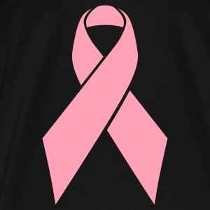 Pink Ribbon - lg (mp) Bags  - Men's Premium T-Shirt