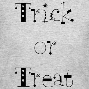 Gray Trick or Treat Women's T-Shirts - Women's Long Sleeve Jersey T-Shirt