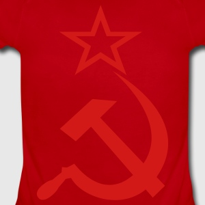 Soviet Hammer & Sickle - Short Sleeve Baby Bodysuit