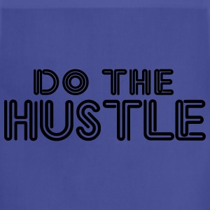 Navy do_the_hustle T-Shirts - Adjustable Apron