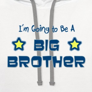 Future Big Brother Children's T-Shirt - Contrast Hoodie