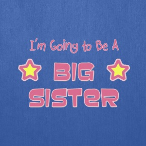 Future Big Sister Pink Children's T-Shirt - Tote Bag