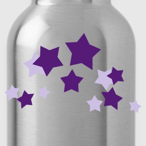 Gold and silver stars - Water Bottle