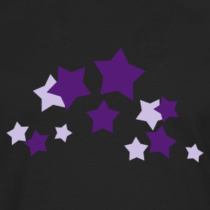 Gold and silver stars - Men's Premium Long Sleeve T-Shirt