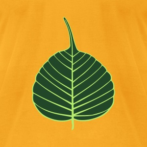 Bodhi Leaf Bag - Men's T-Shirt by American Apparel
