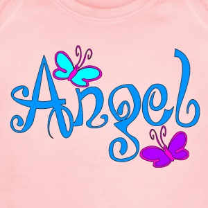 Angel Sweatshirt - Short Sleeve Baby Bodysuit