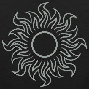 Black black hole sun (dark) Women's T-Shirts - Men's Premium Tank