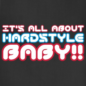 Black It's All About Hardstyle Baby Kids' Shirts - Adjustable Apron