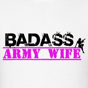 BAD ASS ARMY WIFE HOODIE - Men's T-Shirt