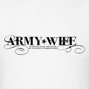 ARMY WIFE :: WE FIGHT HOODIE - Men's T-Shirt
