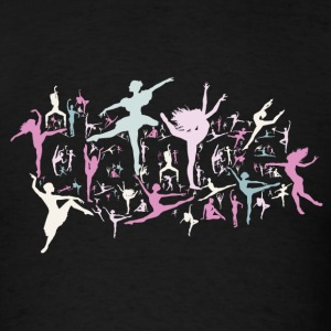 Black Dance! Hoodies - Men's T-Shirt