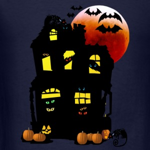 Halloween Mansion - Men's T-Shirt