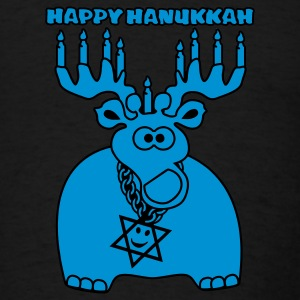 Happy Hanukkah - Men's T-Shirt