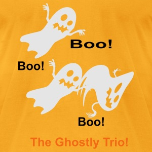 The Ghostly Trio - Men's T-Shirt by American Apparel