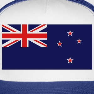 White New Zealand Flag Kids' Shirts - Trucker Cap