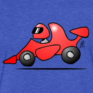 Race Car - Fitted Cotton/Poly T-Shirt by Next Level