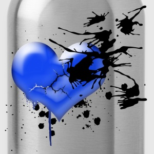My Broken Blue Heart - Water Bottle