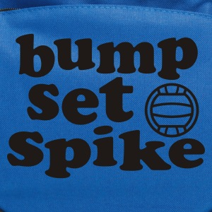 Volleyball Bump Set Spike Tank Top - Computer Backpack