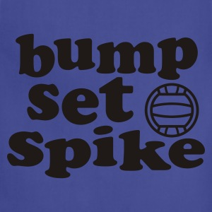 Volleyball Bump Set Spike Tank Top - Adjustable Apron