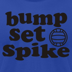 Volleyball Bump Set Spike Tank Top - Men's T-Shirt by American Apparel