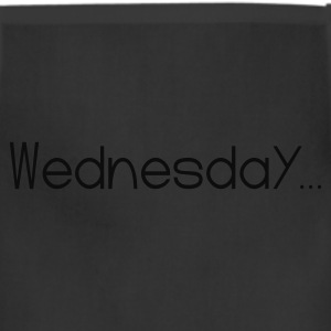 Black Favorite Day Wednesday T-Shirts - Adjustable Apron