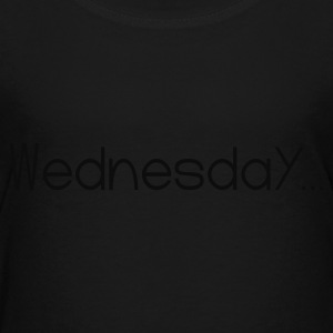 Black Favorite Day Wednesday Sweatshirts - Toddler Premium T-Shirt