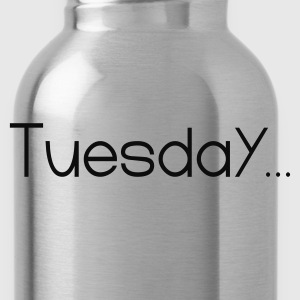 Black Favorite Day Tuesday T-Shirts - Water Bottle