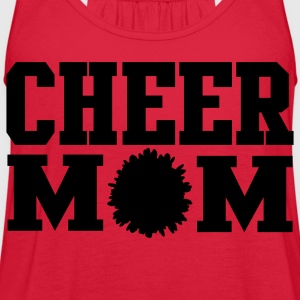 Cheer Mom - Women's Flowy Tank Top by Bella