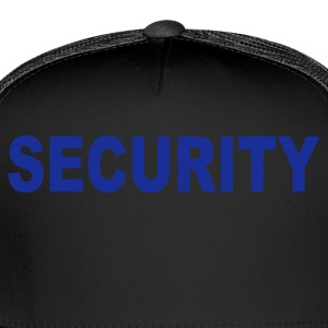Black Security Kids' Shirts - Trucker Cap