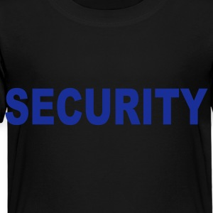 Black Security Kids' Shirts - Toddler Premium T-Shirt