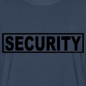 Navy Security Kids' Shirts - Men's Premium Long Sleeve T-Shirt