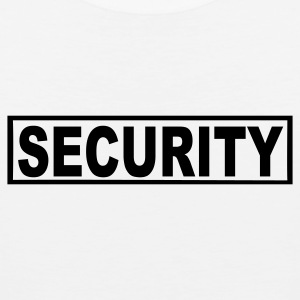 White Security Buttons - Men's Premium Tank
